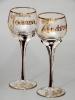 Kielichy Ślubne / Sets of wedding goblets and glasses / Hochzeitskelche und –gläsersätze